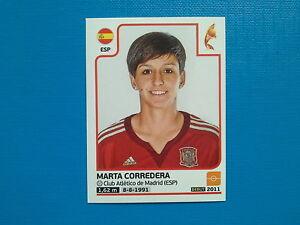 Panini Frauen WM 2019 Sticker 152 Spanien Marta Corredera