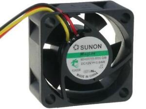 MB40201V1-G99 Fan DC axial 12VDC 40x40x20mm 15.12m3/h 25.5dBA Vapo 'SUNON'