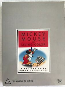 MICKEY-MOUSE-IN-LIVING-COLOUR-WALT-DISNEY-TREASURES-COLLECTION-NEW-2-DVD-NO-TIN