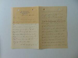 "RARE! ""Civil War MOH"" John Tweedale Hand Written 3 Page Letter Todd Mueller COA"