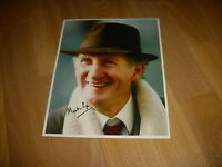 Martin PIPE  Wellington Horse Racing TRAINER  21/01/91  Hand SIGNED Press Photo