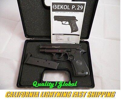 NEW EKOL BLACK G4 P29 MOVIE PROP PISTOL REPLICA SIG SAUER HAND GUN TRAINING AID