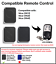 Compatible Remote Control with NICE Flor-S FLO4R-S FLO2R-S FLO1R-S