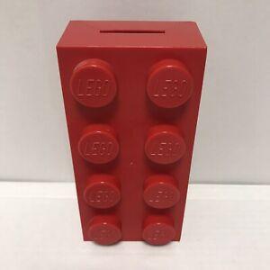lego 2x4 brick coin bank