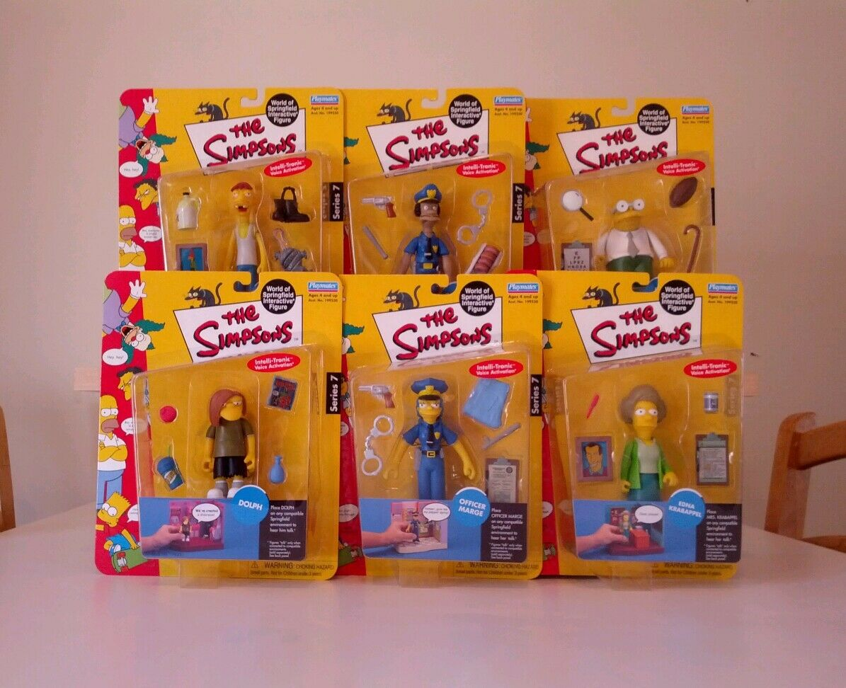 Simpsons World of Springfield serie 7-Juego Completo