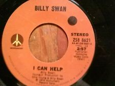 """BILLY SWAN 45 RPM """"I Can Help"""" & """"Ways of a Woman in Love"""" VG condition"""