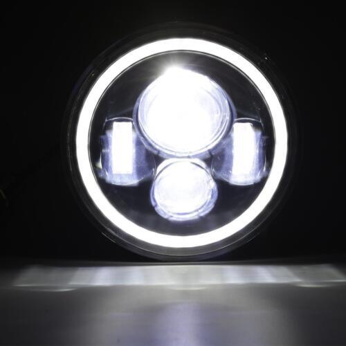 2X 7In Round 150W Total Headlights Hi//Lo 97-18 JEEP JK TJ LJ Wrangler CREE LED