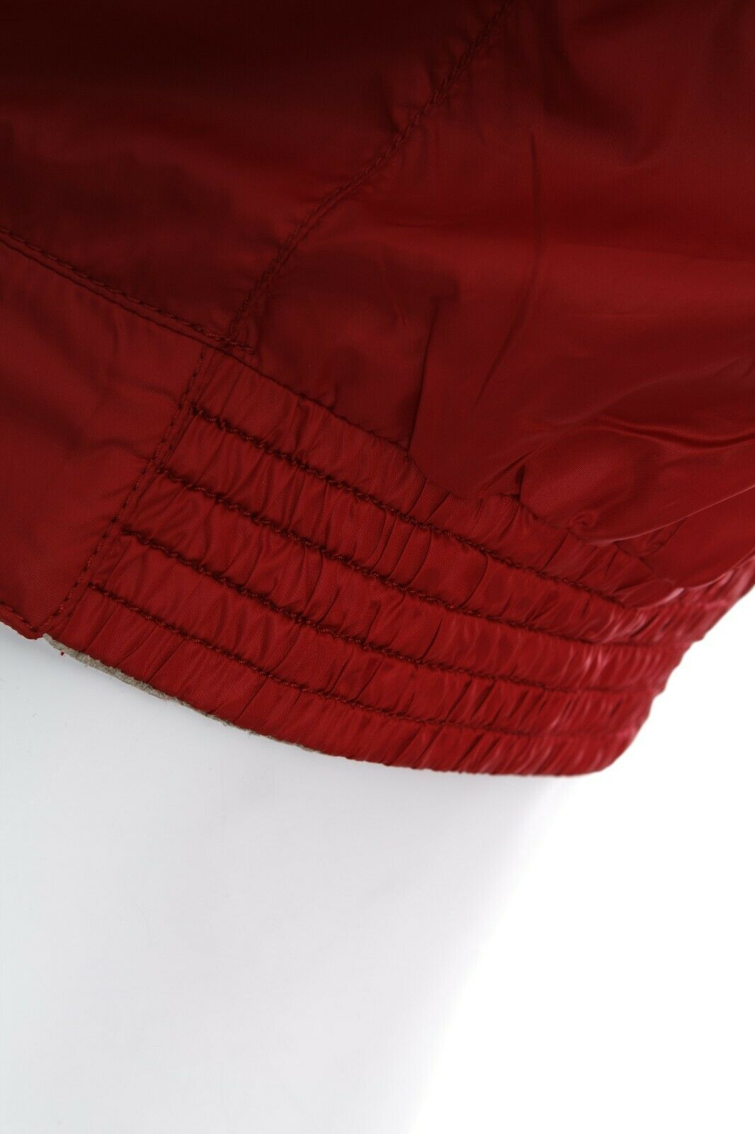 5450$ MENS BRIONI BLOUSON RED SILK LINING LEATHER… - image 11