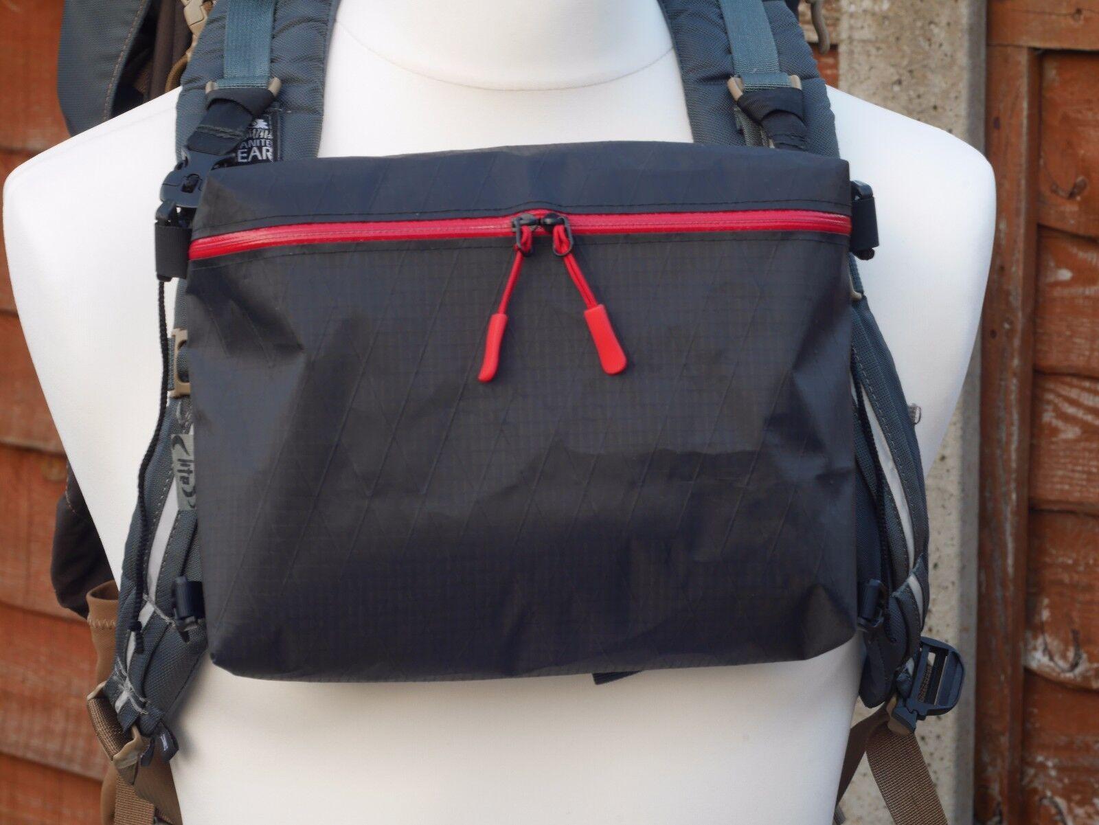 Battistrada Lite Gear petto Pack anteriore a marsupio cuben fibra o x-PAC Ultralight 18g