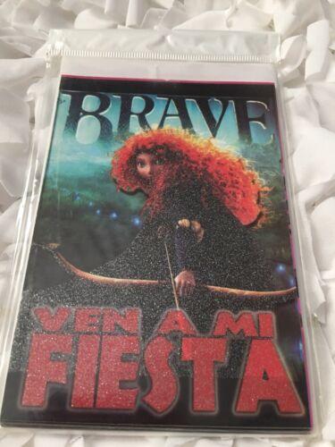 Disney Brave 10pc Set Of Birthday Party Invitations *Spanish Version*
