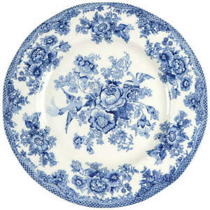 Johnson-Brothers-ASIATIC-PHEASANT-BLUE-Dinner-Plate-2523873