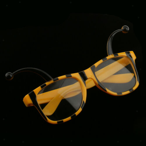 5//set Girl Kids Insect Bumble Bee Eyeglasses Costume Party Fairy Fancy Dress