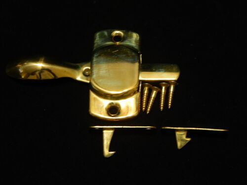 Hoosier Cabinet Latch Bright Brass