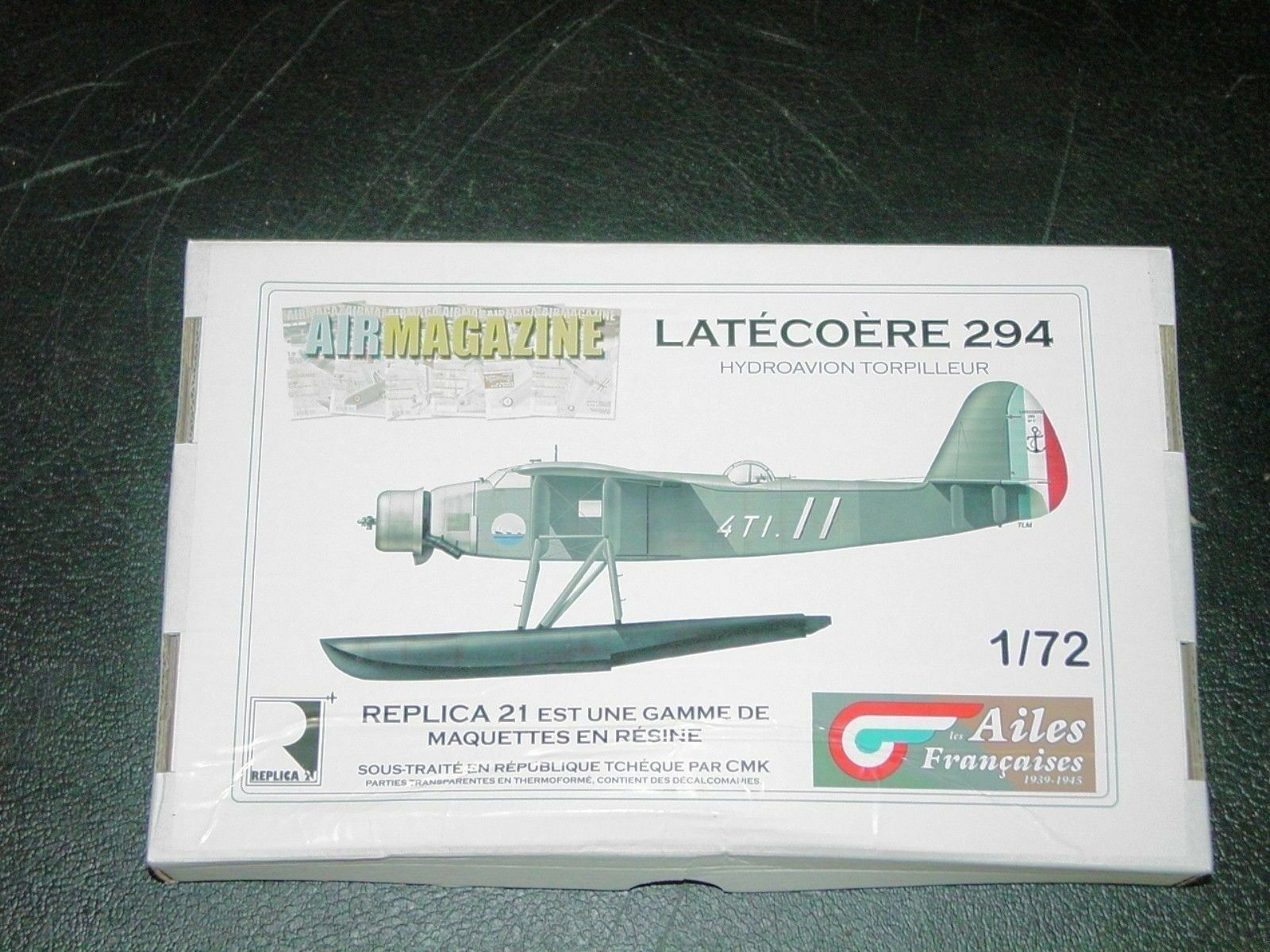 Latecoere 294  French WWII Floatplane Torpedo Bomber Replica 21 TMA 1 72 Resin