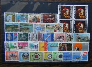 New-Zealand-1968-1971-Settlement-Cook-CORSO-Health-Fair-Sailing-City-Xmas-Used