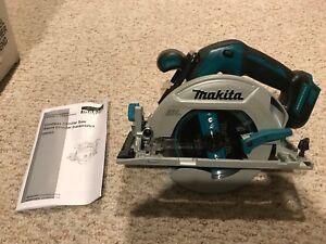 New-Makita-XSH03-Cordless-Brushless-6-1-2-034-Circular-Saw-18-Volt-Blade-Bare-Tool