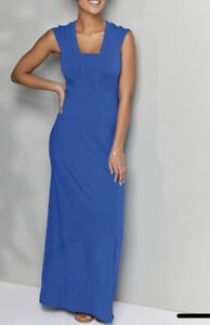 NEW-BRAVISSIMO-Deep-V-Neck-Maxi-Casual-Evening-Cocktail-Party-Holiday-Dress-BR30