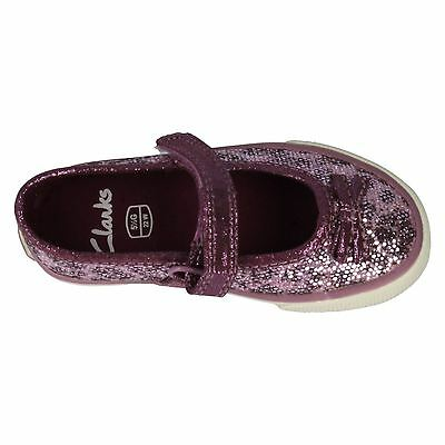 Girls Clarks Shoes - Glam Gem (Shop Soiled - Without Box)
