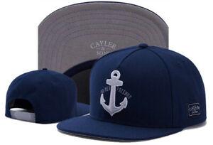 New Fashion Hip Hop Men/'s CAYLER Sons Cap adjustable Baseball Snapback Hat Blue