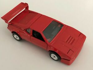 Bmw M1 Race Version E26 In Henna Red 1 43 Scale Diecast Model 82
