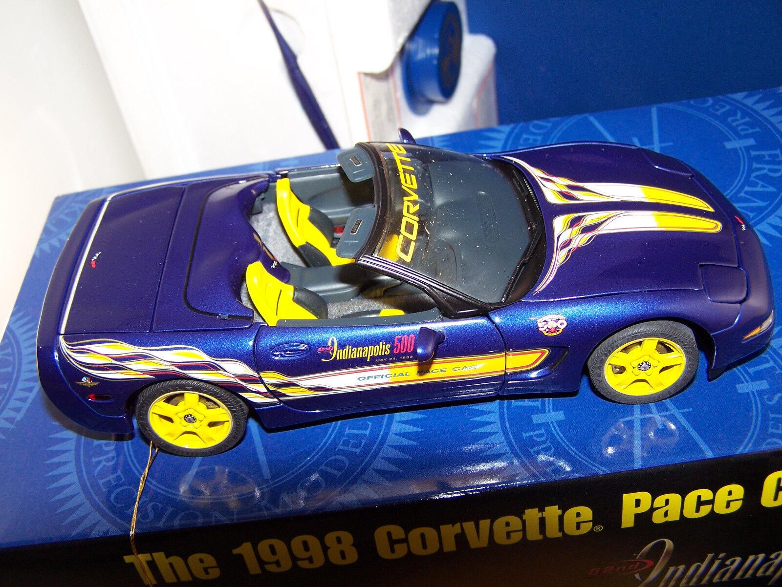 Mib franklin - mint - 1   24 1998 corvette box. sehr sauber rondom zahl