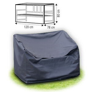 schutzh lle f r 2 sitzer gartenbank 120 cm abdeckhaube bank sitzbank polyester ebay. Black Bedroom Furniture Sets. Home Design Ideas