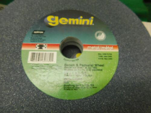 """Norton Gemini 10/"""" x 1.0/"""" x 1-1//4/"""" Grinding Wheel Medium 60//80"""