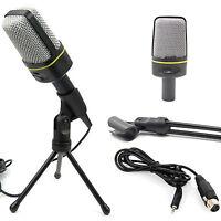 Condenser Sound Professional Studio Microphone MIc USB For PC Shock Mount