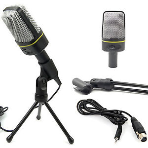 Condenser-Sound-Professional-Studio-Microphone-MIc-USB-For-PC-Shock-Mount