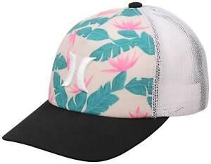 online store b96b9 35f22 Image is loading Hurley-Hanoi-Icon-Women-039-s-Trucker-Hat-