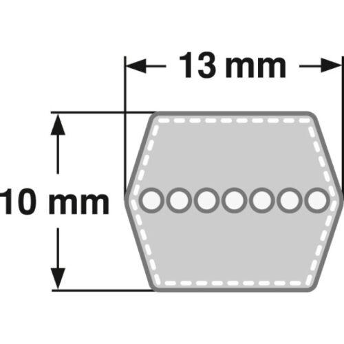 Messer 754-0443 für Mähwerkantrieb MTD Keilriemen 754-0443A Motor