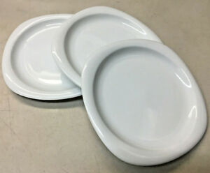 3 Pain Assiettes Rosenthal Suomi Blanc Studio Line Allemagne 17000 Carré Rond 5ycha3uk-08003837-304948763