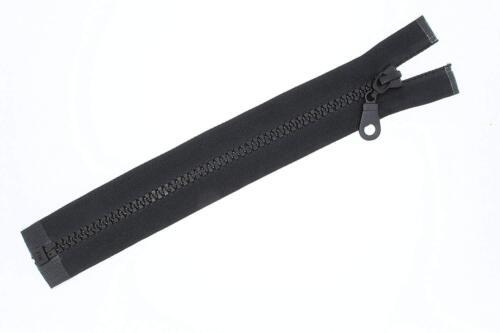Metallreißverschluss Plastikreissverschlüsse schwarz Reißverschluss teilbar 5mm