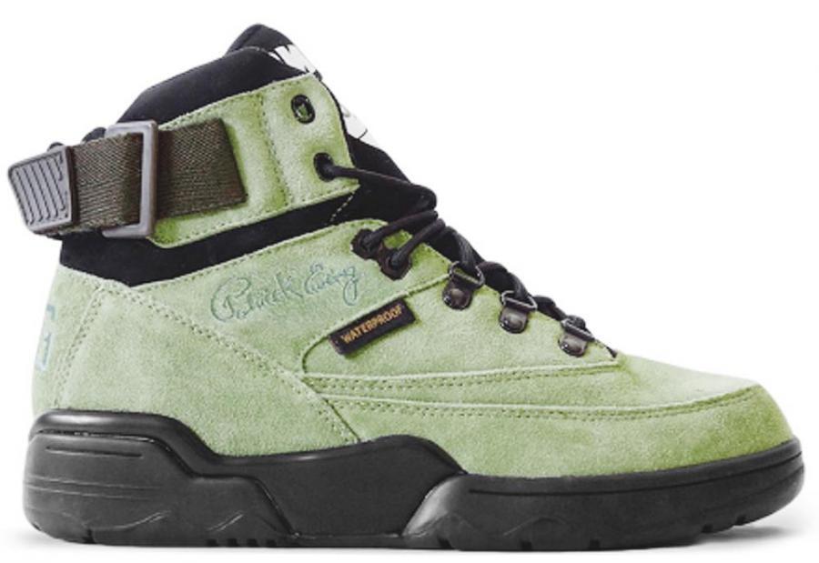 Ewing Athletics Ewing 33 HI Winter Dried Herb schwarz Basketball Schuhe Schuhes Mens