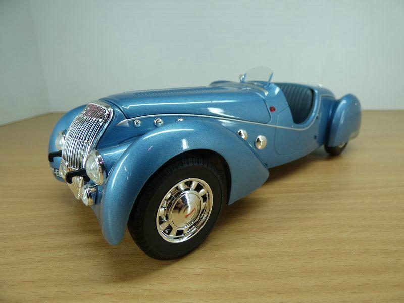 PEUGEOT 302 DARL'MAT DARL'MAT DARL'MAT roadster blue 1 18 c61ce8