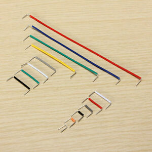 Experimentier-Kabel-140-x-Kabel-Breadboard-Steckbruecken-Drahtbruecken-Wire-GY