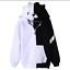 Anime Danganronpa Monokuma Cosplay Unisex Jacket Hoodie Sweatshirt