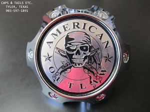 American-Outlaw-center-cap-BC-789-cap-Snap-In-90083-center-cap-NEW