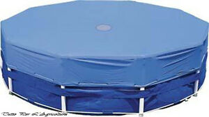 Telo copri piscina intex per copertura piscina frame tonde ottagonali ebay - Telo copertura piscina intex ...