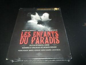 "COFFRET 2 BLU-RAY NEUF ""LES ENFANTS DU PARADIS - L'INTEGRALE"" Arletty"