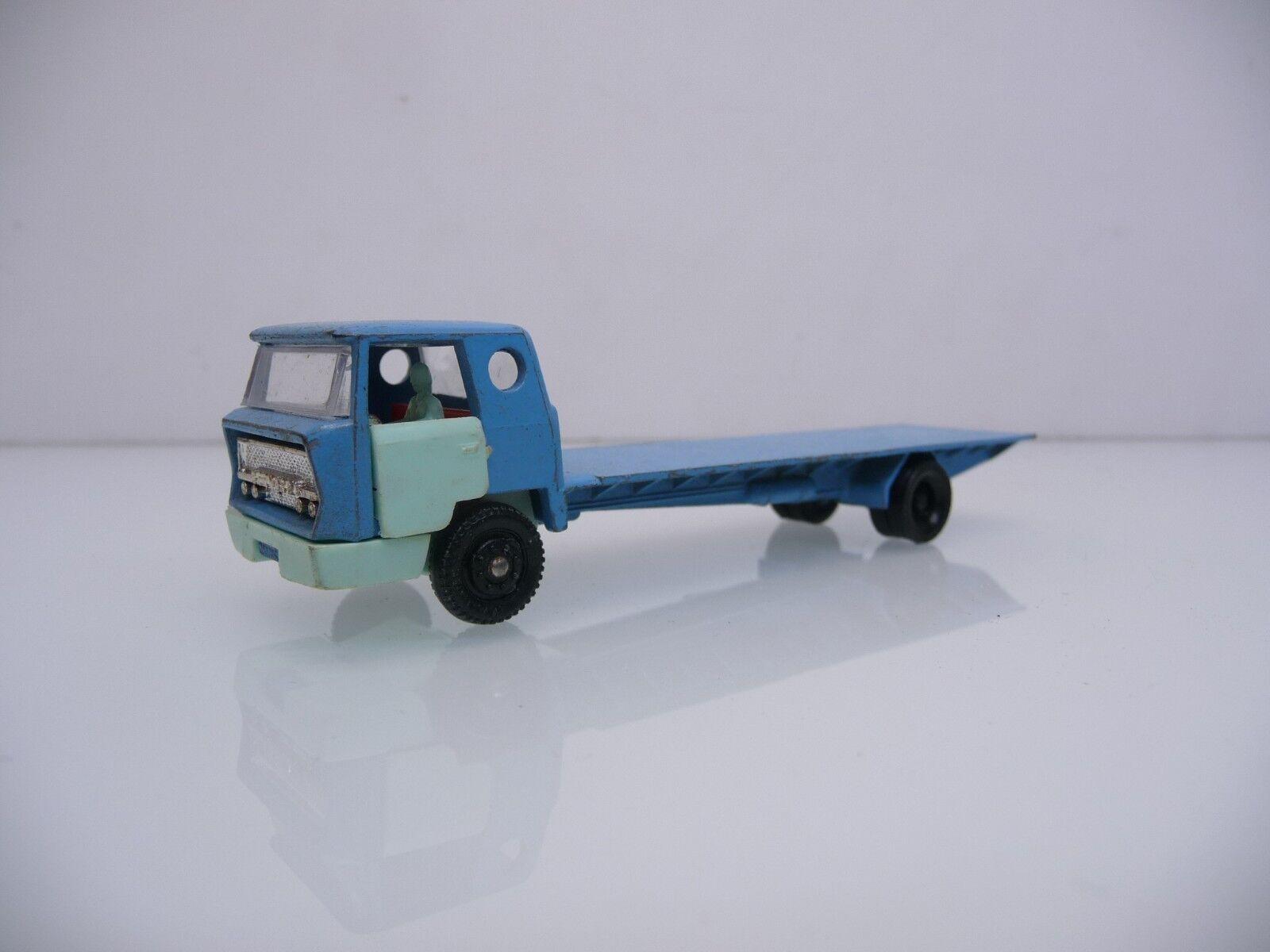 Majorette 1 100 bernard camiones con plana camastro blu blu claro inmemorial Top