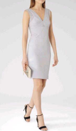 10Brand NewBlauer Lyanette Dress Size Einsatz Designer Reiss Kniel nge Mesh ARL54qc3j