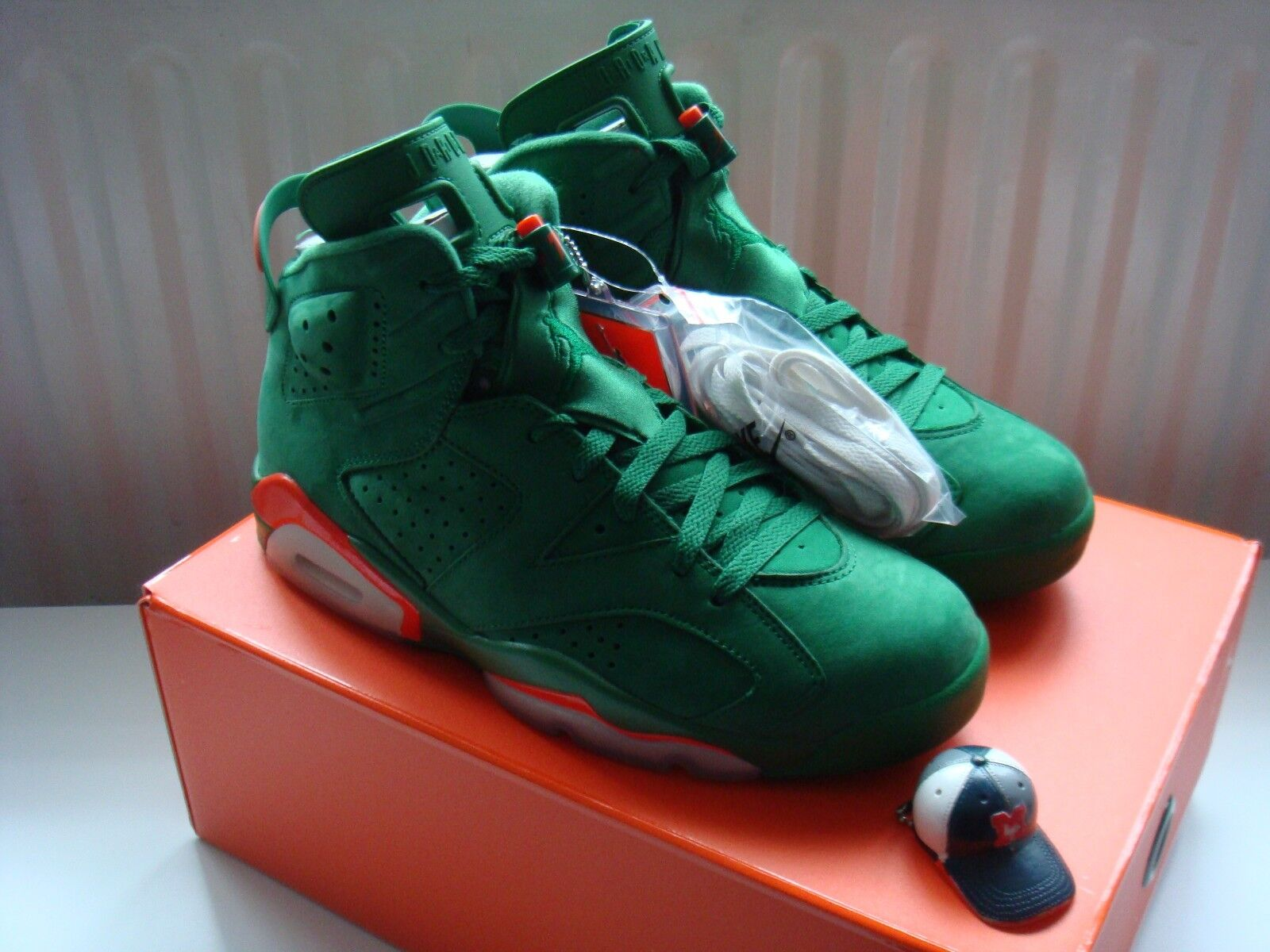 Nike Air Jordan VI 6 NRG Gatorade Green Mike/Infrared Suede US 12/Be Like Mike/Infrared Green 5b030c