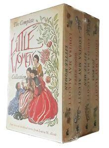 Little-Women-4-Book-Box-Set-Louisa-May-Alcott-Good-Wives-Little-Men-Fiction-New