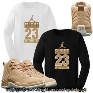 new concept 0bff6 ab83a Image is loading CUSTOM-NIKE-Air-Jordan-XII-Vachetta-Tan-matching-