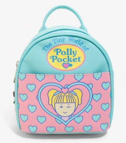 Polly Pocket Mini Backpack Bag The Tiny World of Polly Pocket Pink Mint Hearts