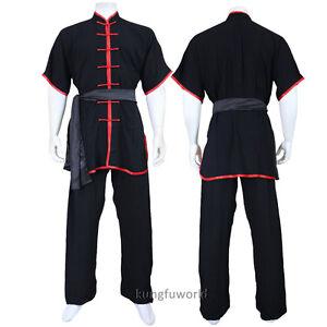 Lightcotton Summer Tai Chi Uniform Kung fu Martial arts Wing Chun Changquan Suit