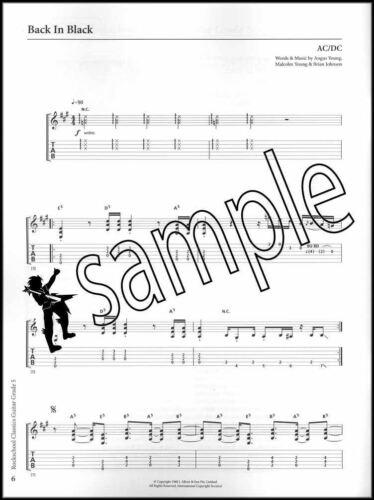 Rockschool Classics Guitar Grade 5 TAB Music Book//Audio AC//DC Lynyrd Skynyrd