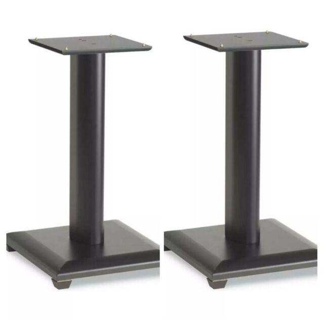 "Sanus BF24 24/"" Basic Foundations Speaker Stands Pair Black"