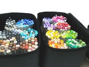 Copic-Sketch-358-all-color-markers-lot-amp-Multiliner-without-case-w-Tracking